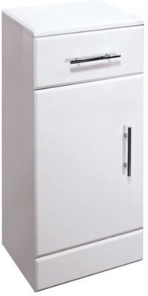 High Gloss White 250mm Cupboard